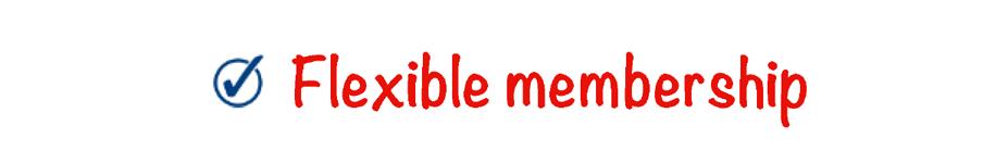 schoolpedia tick - Flexible-membership