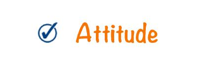 schoolpedia tick - Attitude