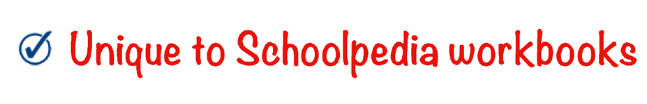 schoolpedia tick - Unique-to-Schoolpedia-workbooks